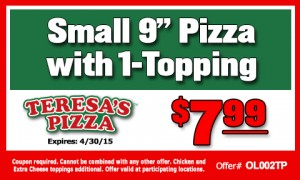 Small 2-Topping